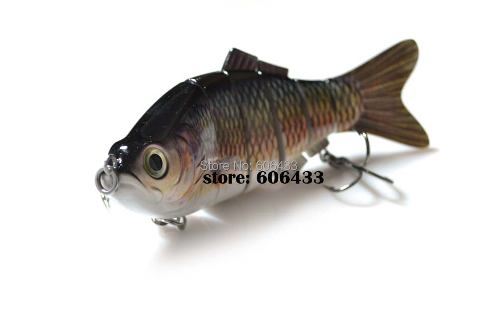 Deep Sea Multi section Lure Fishing Fish Swing Lures 6 Segment Swimbait Crankbait 20cm/115g 8026-FL6B01 Free shipping
