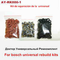 free shipping 100pieces Fuel injection replace kits repair kits universal filter viton orings for bosch EV1.0 clean kits