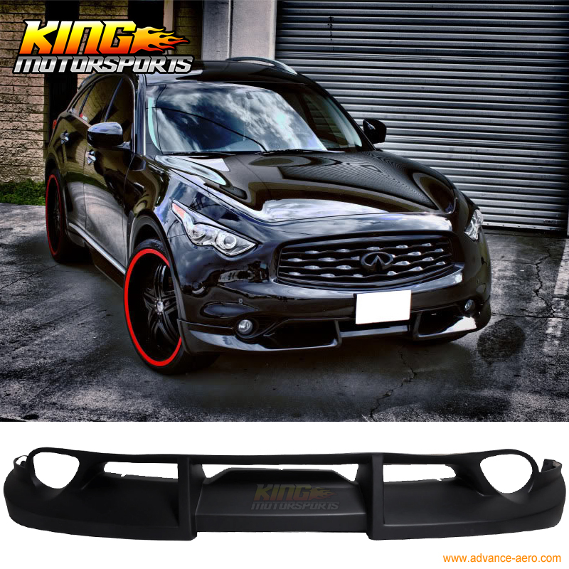 Fit For 09 12 Fit For Infiniti FX35 Fx50 Front Bumper Lip