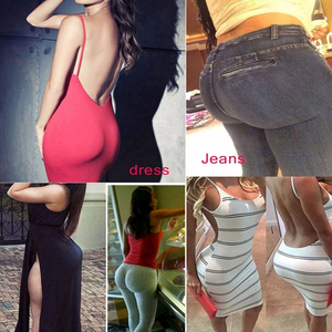 Image 2 - Fake ass cintura alta barriga controle sem costura shapewear hip enhancer espólio acolchoado bunda levantador calcinha boyshorts para mulher
