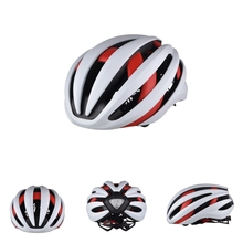 TA 777 Bicycle Helmet Bluetooth Earphone LED Taillight Bike Helmets 18 Vents Safety Integrally molded MTB