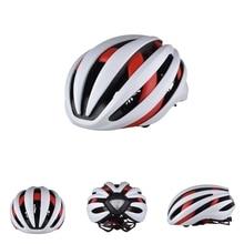 TA-777 Bicycle Helmet Bluetooth Earphone LED Taillight Bike Helmets 18 Vents Safety Integrally-molded MTB Road Cycling Helmets
