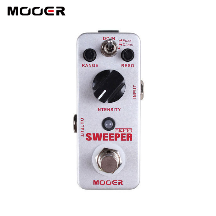 MOOER Sweeper Dynamic Envelope Filter Pedal Sweeper for Bass and Guitar