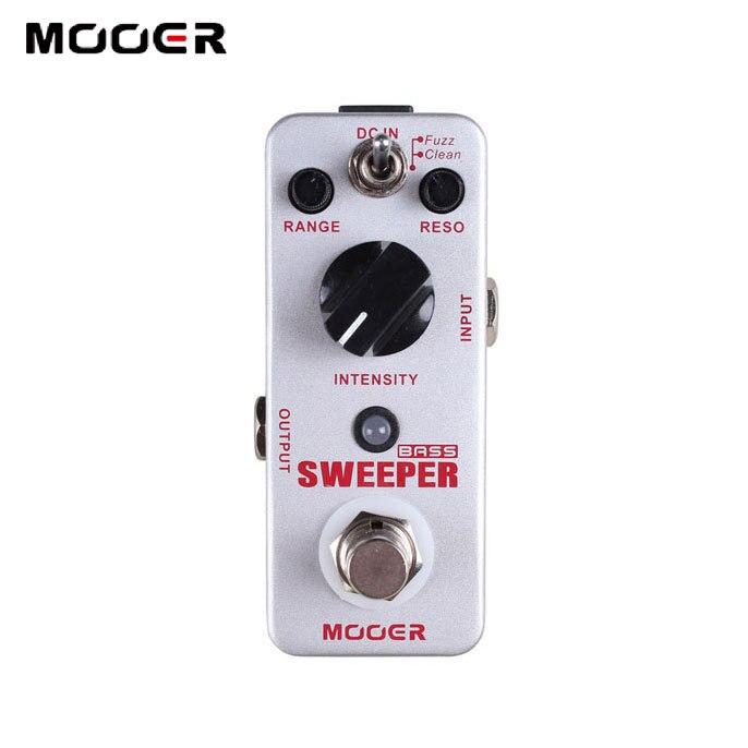 MOOER Sweeper Dynamic Envelope Filter Pedal Sweeper for Bass and Guitar mooer sweeper bass effects pedal dynamic envelope filter