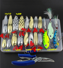 164pcs Fishing Lure Set Mixed Spoon Lure Kit Plier Soft Lure Minnow Popper Fishing Tackle Accessory In Box Fresh Water B225 fishing lure kit 169 pcs pack minnow popper crank spinner metal lure spoon swivel soft bait set combo tackle accessory box