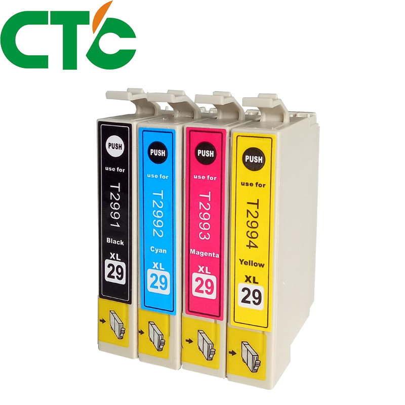 4 Pack T2991 29xl  Ink Cartridges Compatible for INK XP-235 XP-332 XP-335 X-P432 XP-435 XP-247 XP-442 XP-342 XP-345
