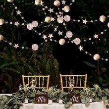 4メートルの円スター花輪紙花輪バナーパーティーの装飾ホオジロ結婚式誕生日パーティー保育園ルームのインテリア用品