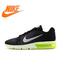 Original Authentic NIKE AIR MAX SEQUENT 2 Breathable Men's Running Shoes Sports Sneakers Outdoor Walking Jogging Comfortable