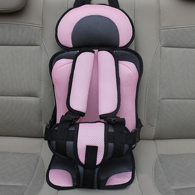 adjustable infant baby car safety seat five point harness toddler padded cushion mochila infantil travel sitting pad for kids
