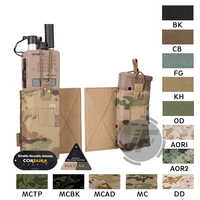 Emerson Tactical MBITR Radio Accessory Pouch Set EmersonGear M4 Magazine Pouch Mag Carrier Walkie Pocket Hook & Loop