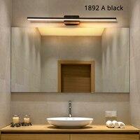 Modern minimalist aluminum lamp LED bedside lamp wall lamp room bathroom mirror direct light creative hallway