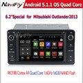 Android 5.1.1 Quad Core GPS Навигации Автомобиля DVD для Mitsubishi outlander 2013-2014 с Радио Зеркало Ссылка бесплатная доставка