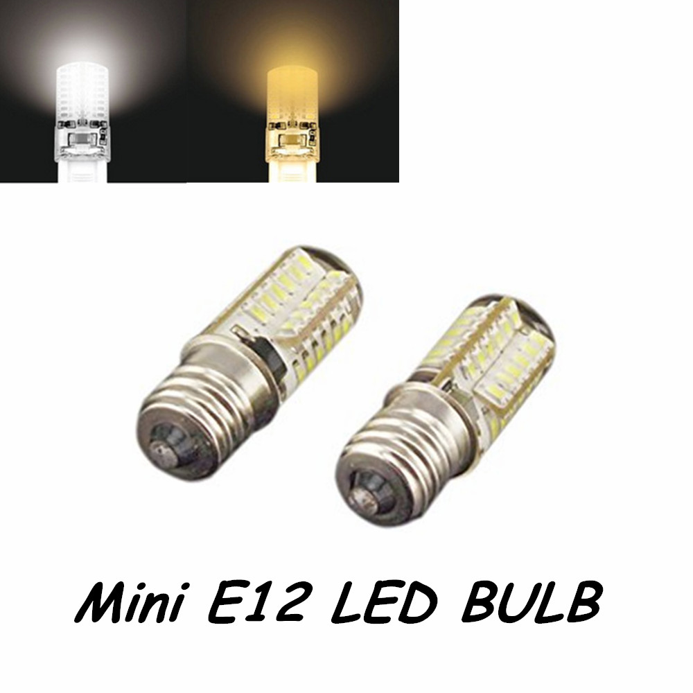 5pcs 110v 3w 3014 Smd Led Chips Mini E12 Light Bulb Omnidirectional Candelabra Base In Bulbs S From Lights Lighting On