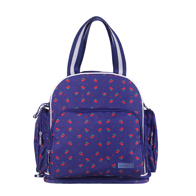Maternity Large Capacity Oxford Backpack Shoulder Bags For Pregnant Women Outdoor Tote Bags Double Use Female Multi-function Bag