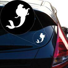 Kleine Meerjungfrau-Aufkleber-Aufkleber für Autofenster, Laptop und mehr