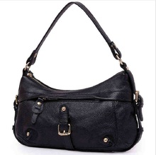 Cow Leather Handbag Women 2019 Black Woman Fashion Brown Casual Vintage Genuine Leather Messenger Shoulder Crossbody Hand Bags