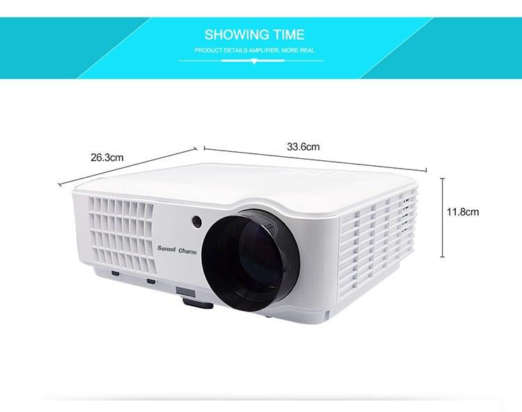 Zvuk zvuka Najveći LED svjetlovodni projektor Full HD LED, projektor - Kućni audio i video - Foto 2