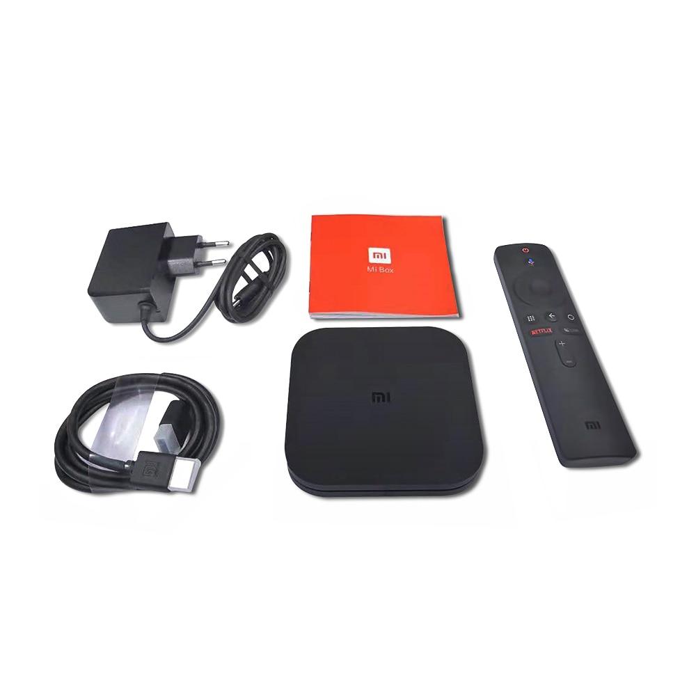4 K IPTV France Box Mi Box S 4 K HDR Android 8.1 2G 8G WIFI Google Cast avec SUBTV IPTV Code 1 an Full HD arabe français IP TV - 6