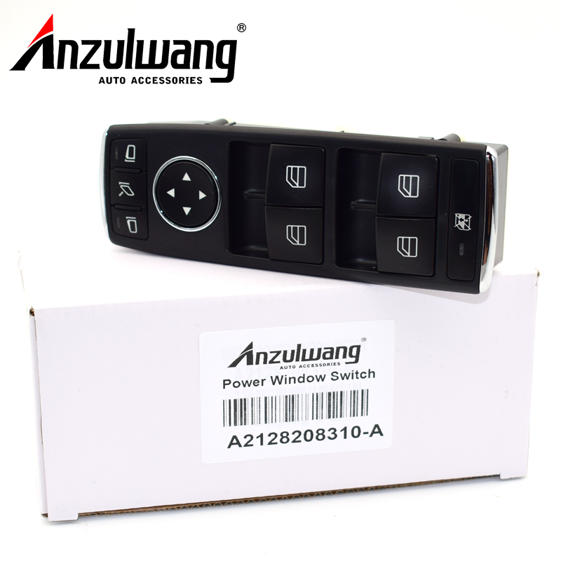 High Quality For Mercedes W204 W212 C E Class Drivers Side Electric Window Switch A2128208310/2128208310 Car Switches & Relays    - title=