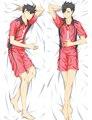 Японии Аниме Haikyuu! Tetsurou Kuroo Мужской Обниматься Тела Чехол Case средней школы волейбол 69044