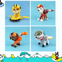 New paw patrol dog space version variable character model deformation patrol Patrulla Canina PVC toy action character model