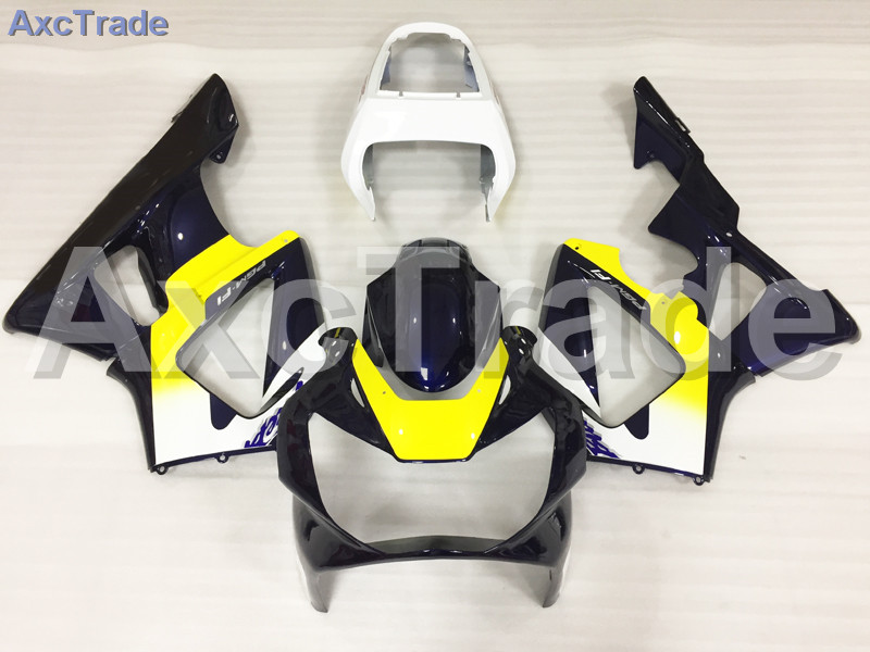Motorcycle Fairings For Honda CBR 929 900 RR 929RR 00 01 900 2000 2001 CBR900RR ABS Plastic Fairing Kit Bodywork Yellow Black