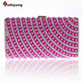 Quality Assurance Women's Embroidered Pearls Evening Bag Beaded Handbag Diamond Clutch Purse Imitation Shoulder Bag 10 color