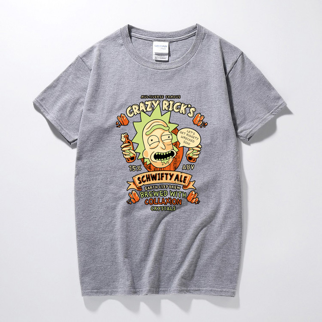 COOL RICK AND MORTY T-SHIRT (10 VARIAN)
