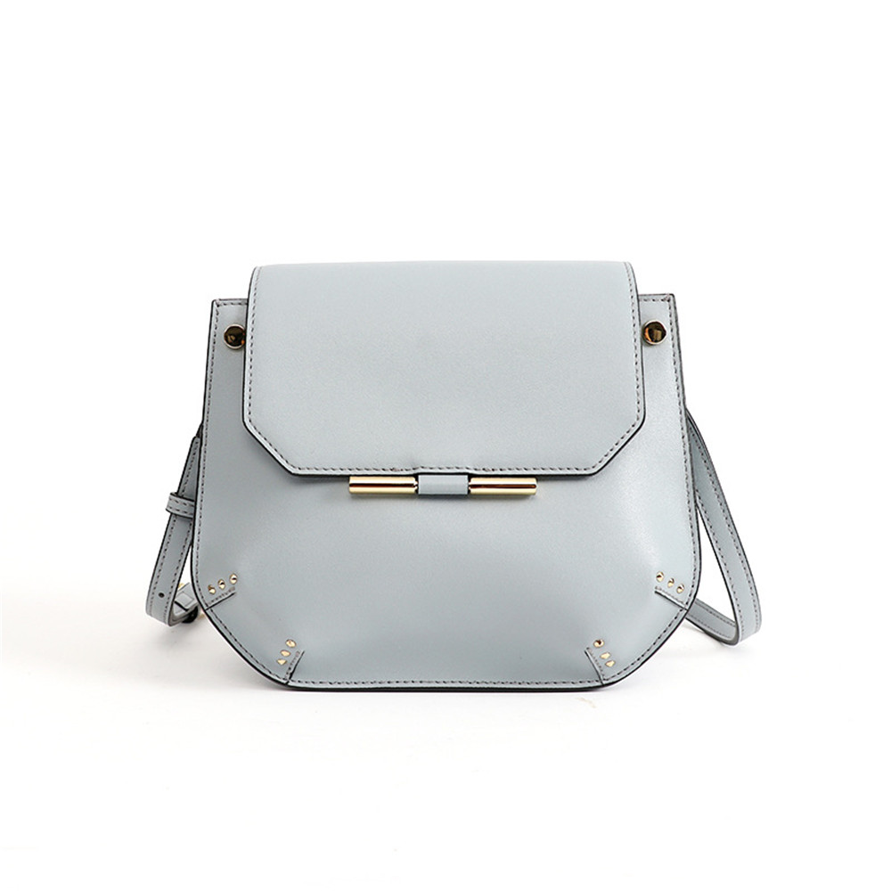 New Arrival Small Flap Bag Split Leather Crossbody Bag Luxury Brand Design Messenger Bag Sweet Style
