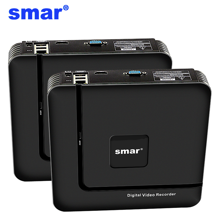 Smar Newest Mini NVR Full HD 4 Ch 8 Ch H.265 Security Standalone CCTV NVR 1080P 4CH 8CH ONVIF 2.0 For IP Camera System 1080P 1