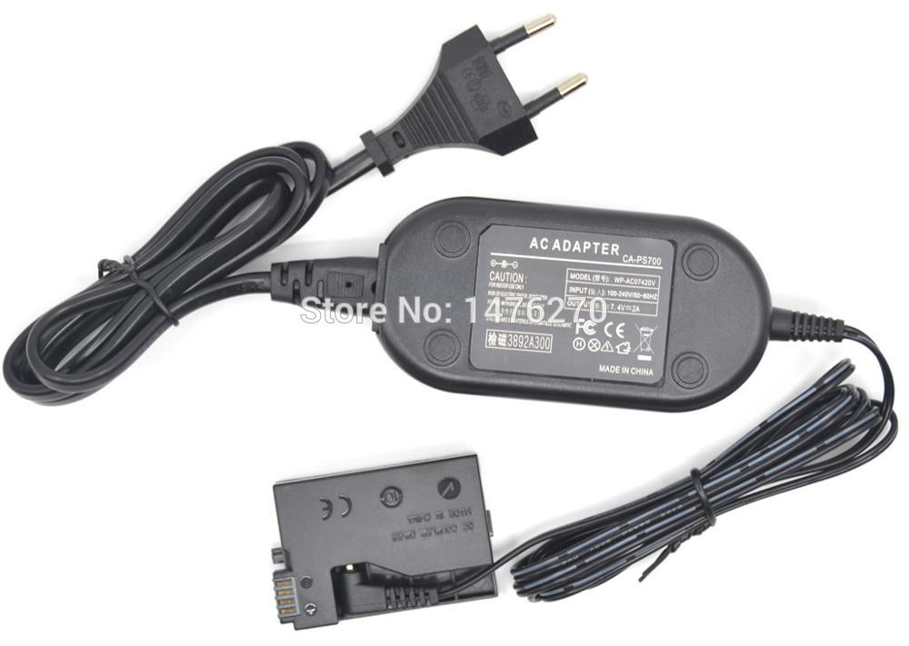Power Supply chargeur Charger for Canon Kiss x4 x5 x6 eos 550d 600d 650d cargador
