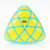 100% de Alta Qualidade Cubo Mágico MoYu Aosu Mastermorphix Enigma do Cubo Branco e Preto e Rosa e Azul Claro e Ciano