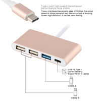 3 In 1 USB Cable USB 3 0 High Speed Transmission Fast Charging For IPhone 7