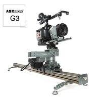 Алюминий сплав видео стабилизатор слайдер dslr камеры трек Долли слайдер Железнодорожный системы моторизованный камеры слайдер для timelapse