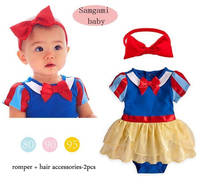 Baby Rompers Princess Style 2pcs Set New 2015 Summer Newborn Baby Girl Clothes Baby Clothing 6