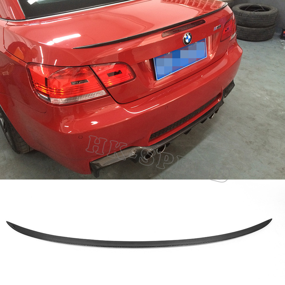 carbon M3 style E93 convertible rear trunk lip spoiler, rear spoiler wing for BMW ( for BMW 325 328 330 335 07-13)