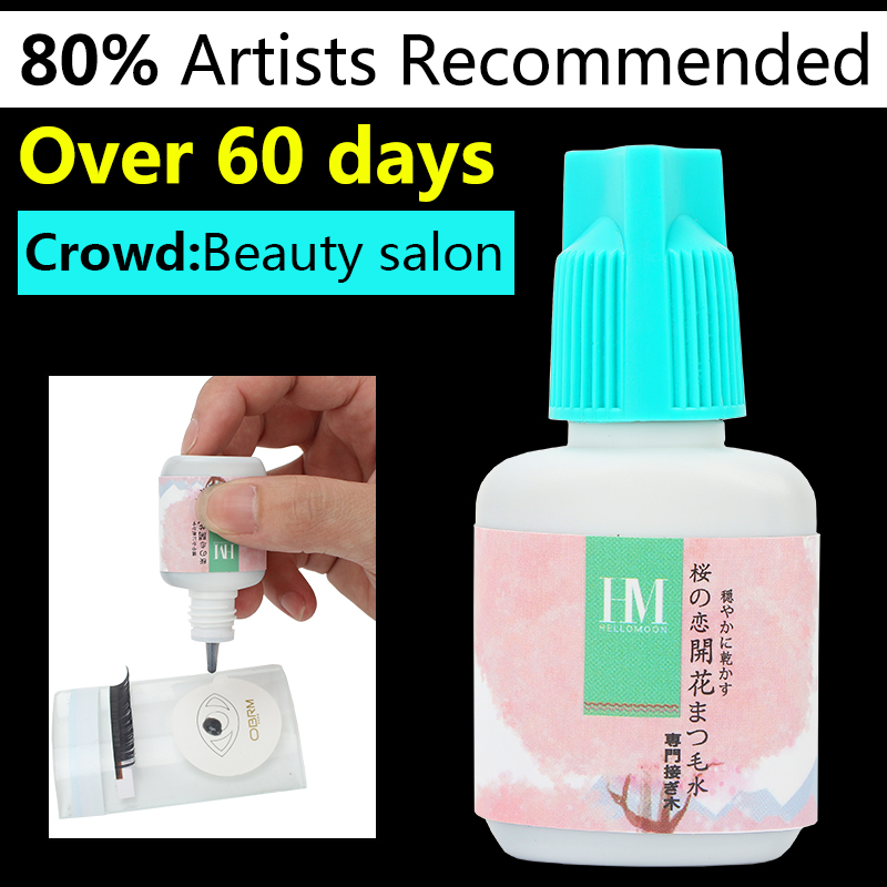 10ml eyelashes extension glue,Over 60 Days eyelash glue, dry glue for professional, eye lashes glue eyelash adhesive