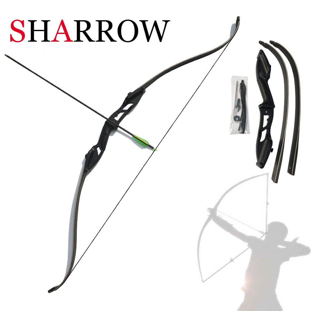 Brand New Traditional Archery Take Down Recurve Bow Right Hand Black Color Gift Arrow Rest 30lbs 35lbs 40lbs 45lbs 50lbs раскладушка therm a rest therm a rest luxurylite mesh xl