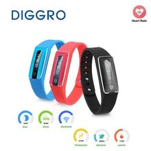 Diggro HB02 Bluetooth Smart браслет NFC Водонепроницаемый сна монитор сердечного ритма шагомер напоминание для Android и IOS браслет