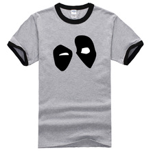 100% Cotton Men's T shirt Hero Deadpool Short Sleeve T Shirts man 2017 summer brand clothing funny tops tee shirts streetwear