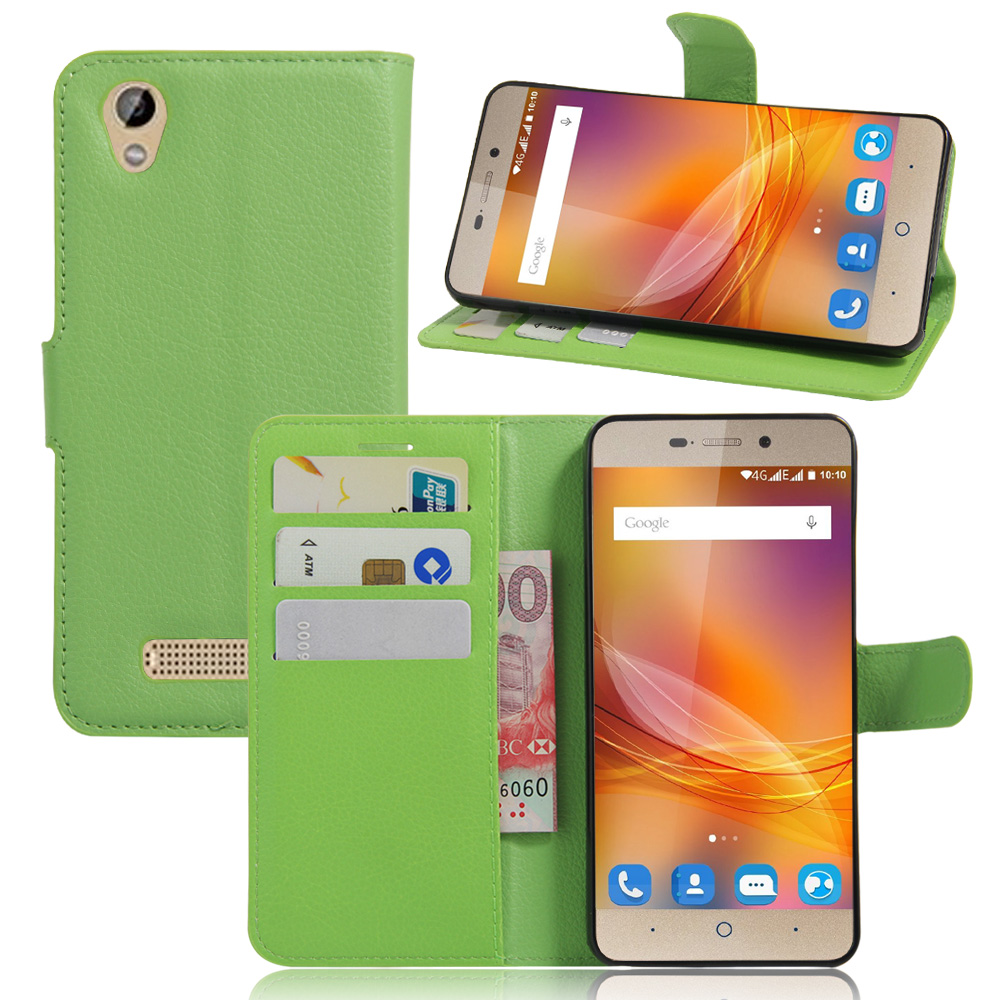 Case For ZTE Blade A452 / ZTE D2 T620 Luxury Wallet PU Leather Case For ZTE Blade X3 Stand Flip Card Hold Phone Cover Bags