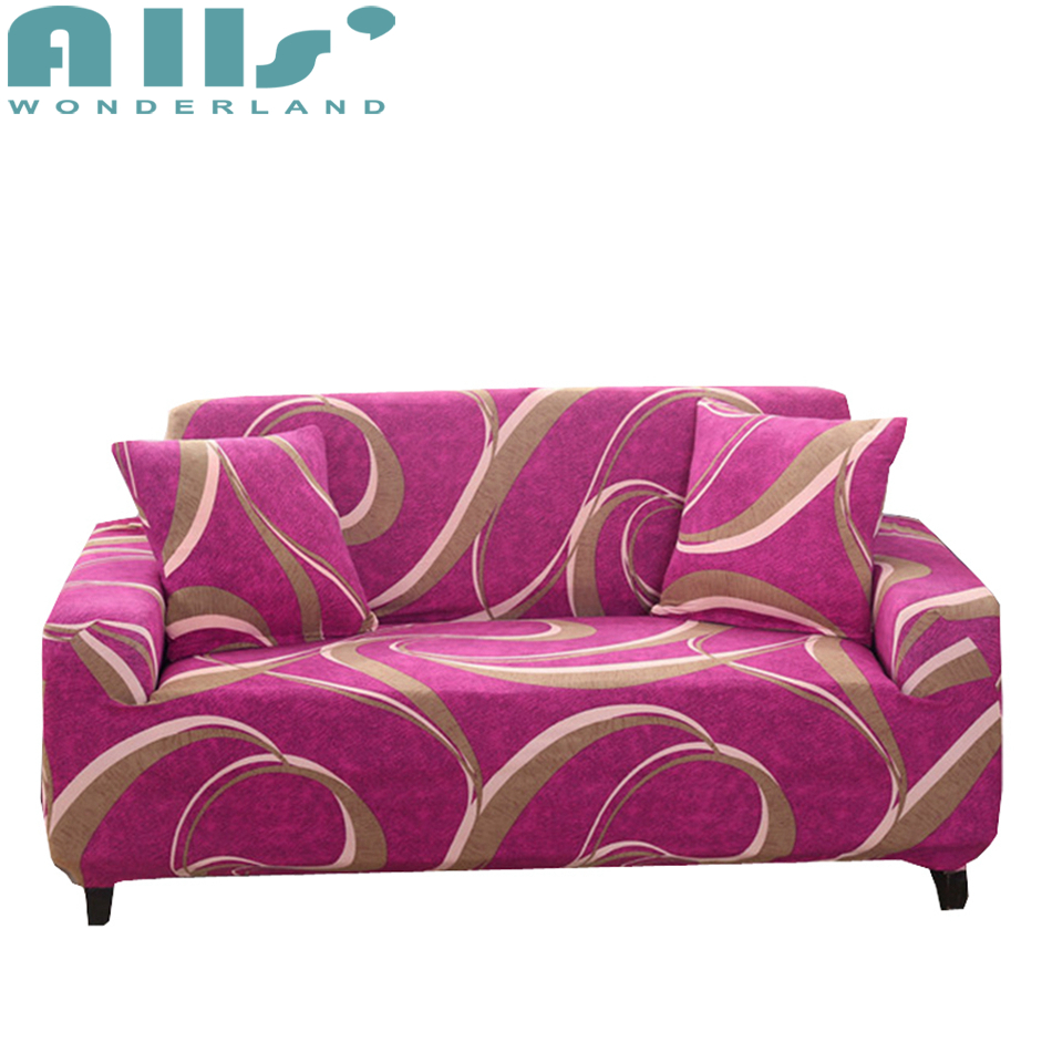 Pink Sofa Cover: Aliexpress.com : Buy Polyester Sofa Covers For Living Room
