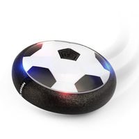 Kids Indoor Air Soccer Novelty Gadget Toys Disk Latest Indoor Game LED Electric Suspension Pneumatic Football
