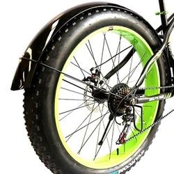 Lobo fang snowmobile asas de bicicleta fender asa bicicleta ferro material forte durável cobertura completa frete grátis