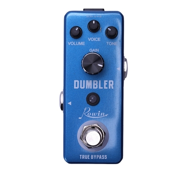 Rowin LEF-315 Analog Dumbler Guitar Effect Pedal,Provide You With Sound Ranging From A Tasty Light Overdrive To A Juicy Medium rowin analog dumbler guitar effect pedal