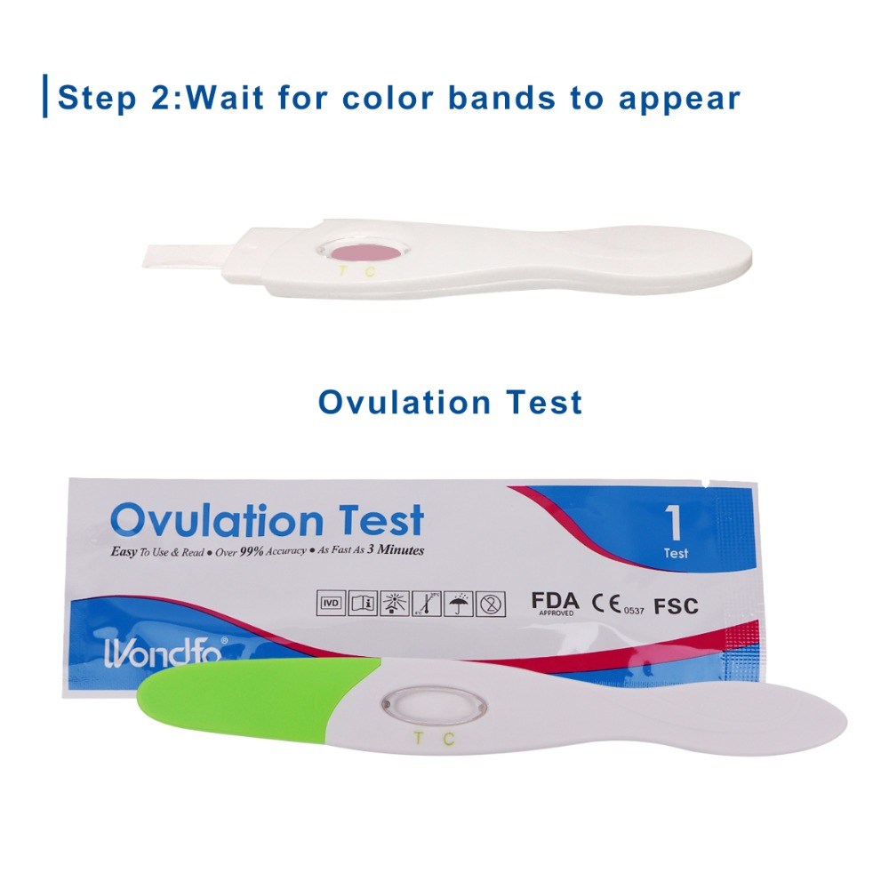 Wondfo 7pcs Ovulation Urine Test Midstream LH Tests kit First Response Ovulation kits, Over 99% Accuracy Earliest Detection Islamabad