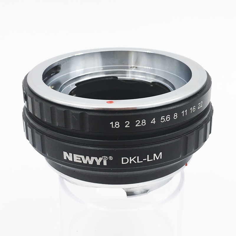 NEWYI Lens Adapter For Dkl Lm Voigtlander Retina Deckel Lens To L eicam With Techart Lm Ea7 Camera Lens Ring Accessories-in Lens Adapter from Consumer Electronics