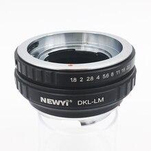 NEWYI Objektiv Adapter Für Dkl Lm Voigtlander Retina Deckel Objektiv Zu L eicam Mit Techart Lm Ea7 Kamera Objektiv Ring zubehör