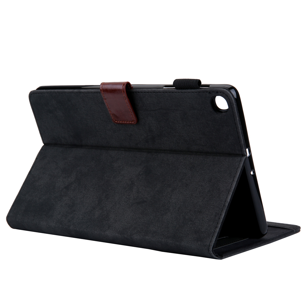 Case For Samsung Galaxy Tab A 10 1 2019 Case SM T510 SM T515 T510 T515 10 1 quot Canva Leather Smart Folio Stand Tablet Covers Capa in Fitted Cases from Cellphones amp Telecommunications