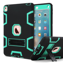 Case For iPad Pro 9.7″ Cover High Impact Resistant Hybrid Three Layer Heavy Duty Armor Defender Full Body Protector